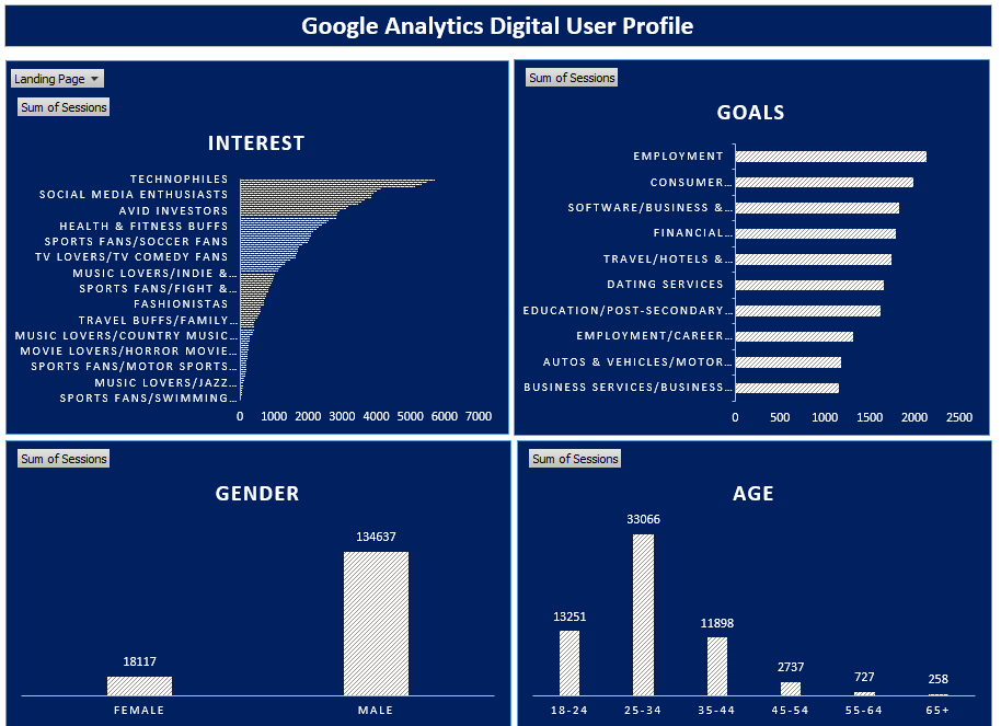 Google Analytics Customer Profile