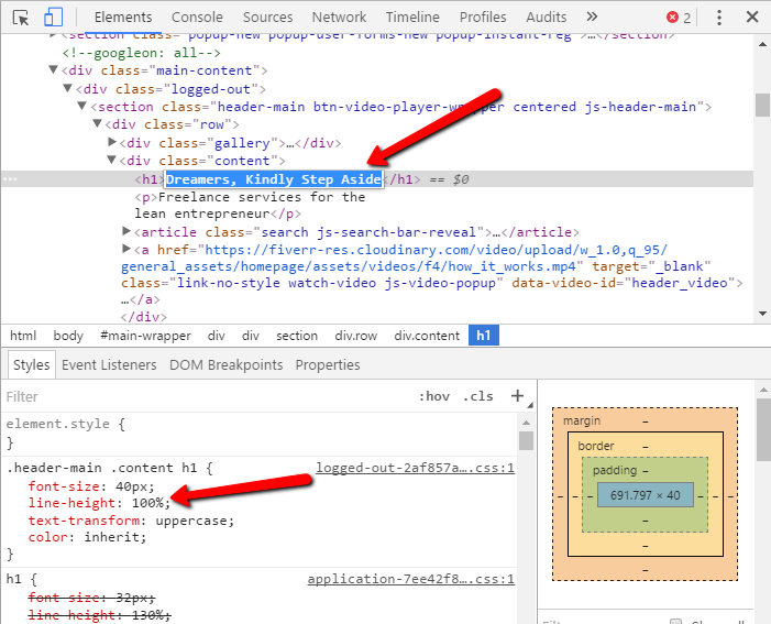 Adding to the text on a page with Google Developer Tools