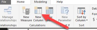 Create a new column so that you can create a DATEDIF column
