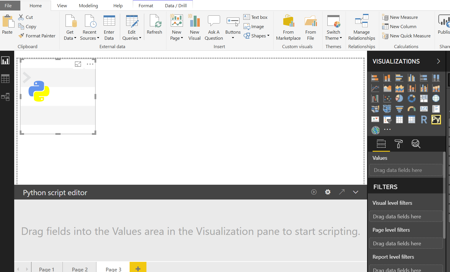 Using Python Visuals in Power BI - AbsentData