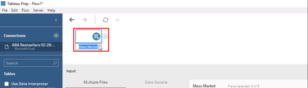 Getting Started with Tableau Prep - AbsentData